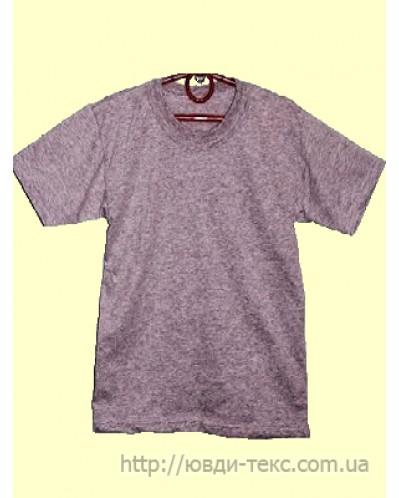 футболка серая 1-076