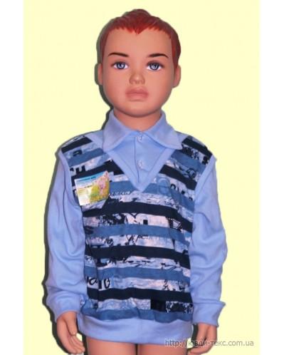 Жилет-рубашка  2-027