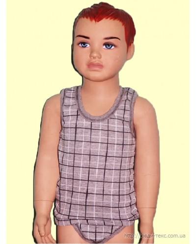 Майка с трусами для мальчика 7-024