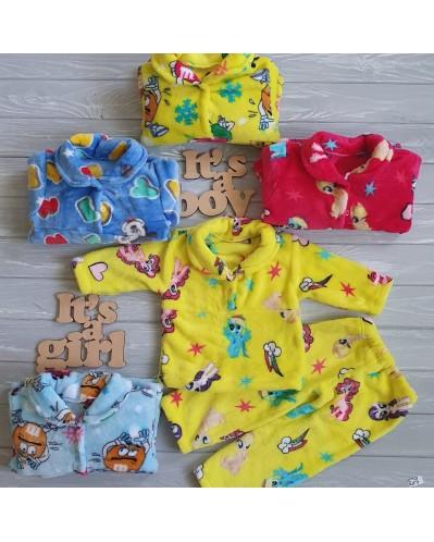 Пижама на 2 пуговках8-004